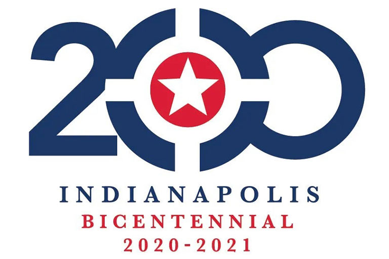 The 200 mark for the Indianapolis Bicentennial 2020 through 2021.